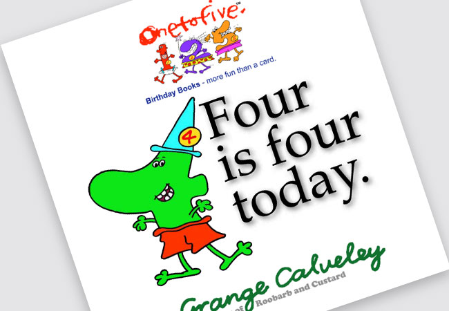 four is four book Grange Calveley