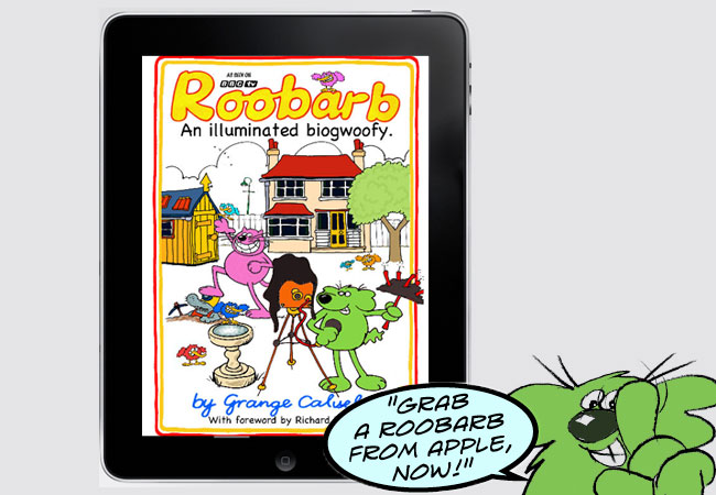 Roobarb on Apple ibooks